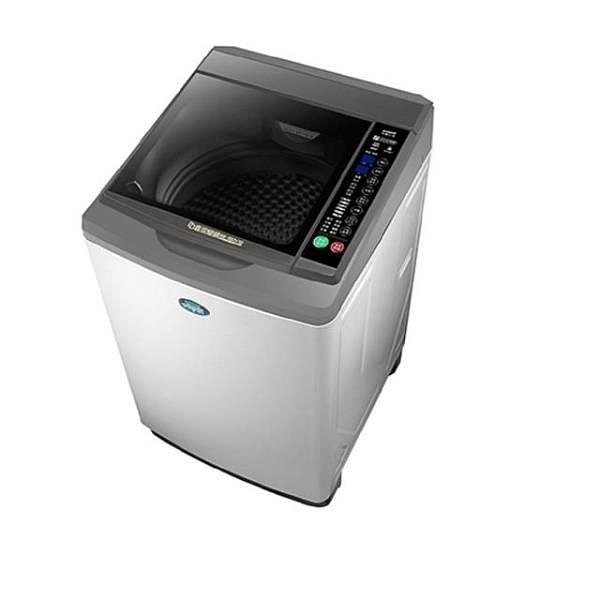【南紡購物中心】台灣三洋SANLUX【SW-15DV10】15公斤變頻洗衣機淺灰色