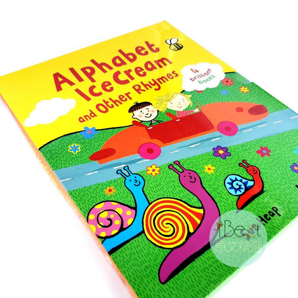 Alphabet Ice Cream and Other Rhymes | 外文 | 套書 | 字母冰淇淋 | 吳敏蘭 | 書單 | Nick Sharratt