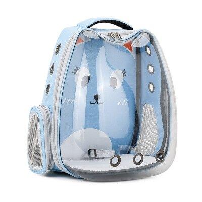 超夯喵星人太空艙寵物包 寵物外出包 寵物後背包 透氣寵物包 寵物外出用品 全景透明太空包『全館免運 領取下標更優惠』