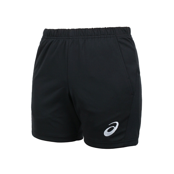 ASICS 女排球短褲(免運 針織 三分褲 運動 慢跑 路跑 吸濕排汗 亞瑟士≡排汗專家≡
