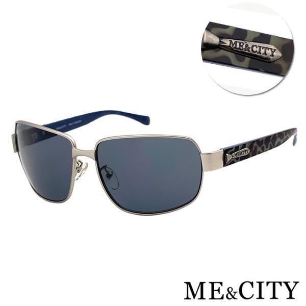 【SUNS】ME&CITY 義式紳士質感方框太陽眼鏡 抗UV(ME 110013 B611)