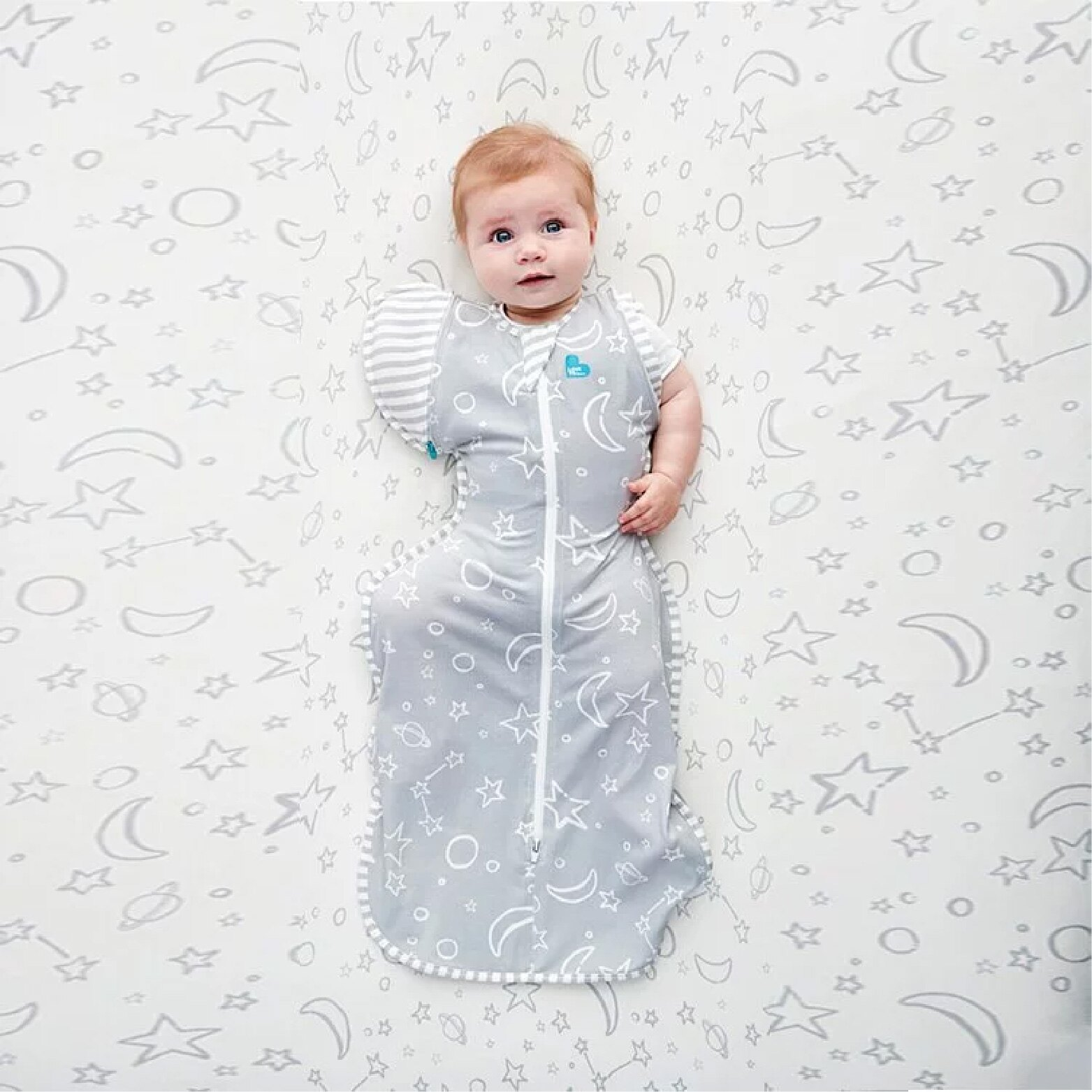 澳洲 LOVE TO DREAM 蝶型包巾STAGE2-竹纖維基本款1.0TOG (3-9個月)【母親節推薦】