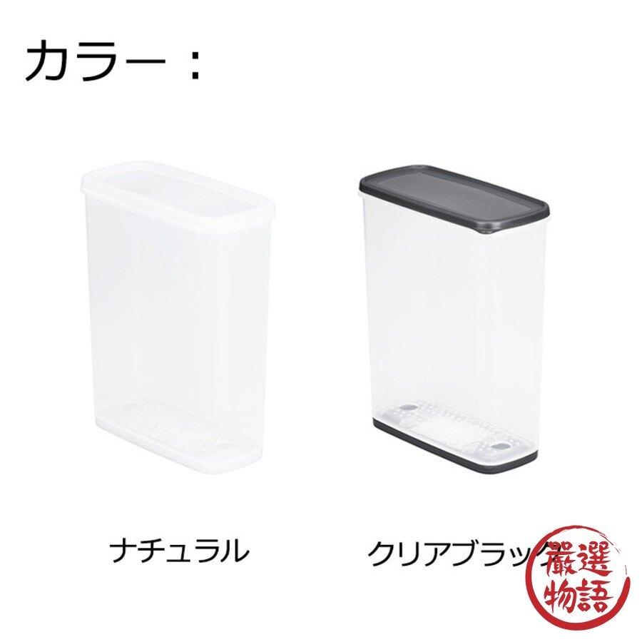 【日本製】【Inomata】日本製 食物保存收納 防潮密封盒 4L 經典透明款(一組:3個) - Inomata