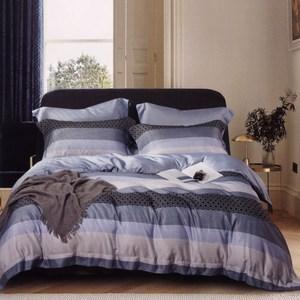 BUTTERFLY-吸濕排汗天絲四件式薄床包涼被組-凡人歌(加大)