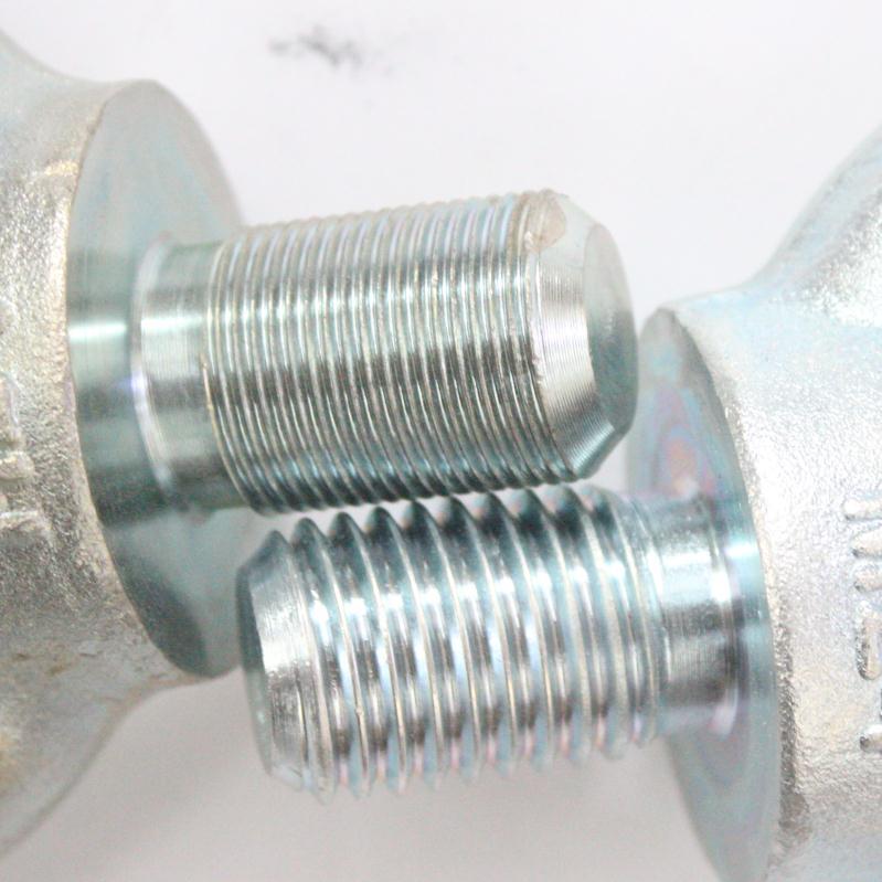 細牙高強度鍍鋅吊環螺絲螺絲螺釘M12*1.5/M16*1.5/M20*1.5/M24*2/M48*3