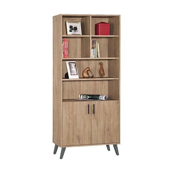 羅斯曼2.7尺書櫃/書櫥(21CM/871-2)/H&D東稻家居