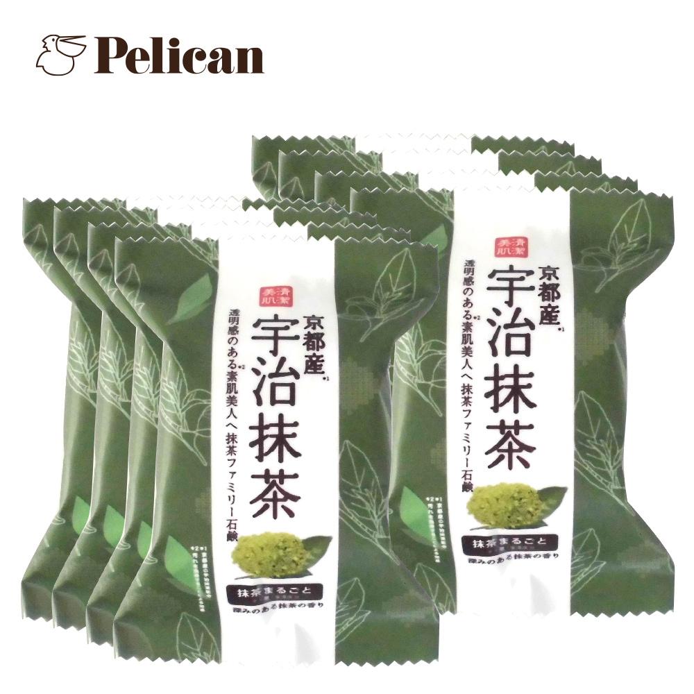 日本Pelican 宇治抹茶綿密泡泡皂80gx8入