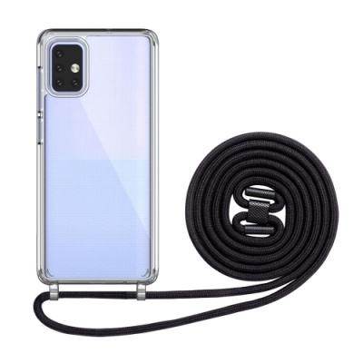 O-one  三星 SAMSUNG Galaxy A51 5G 可調式掛繩手機殼 手機套