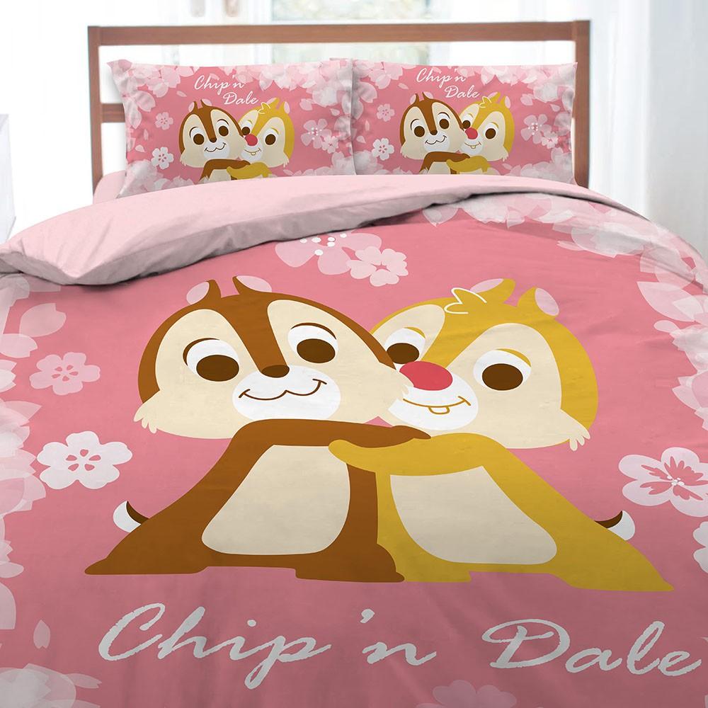 新品首發 奇奇蒂蒂 粉紅季 單人 雙人 床包組 薄被套 涼被 冬夏兩用被 正式授權 台灣製造 睡袋 枕頭套 午睡枕 枕頭