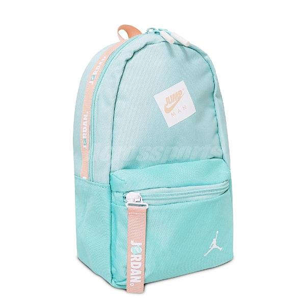 Nike 後背包 Air Jordan Backpack 藍 粉 男女款 喬丹 雙肩背 小背包 運動休閒 【ACS】 JD2123007TD-001