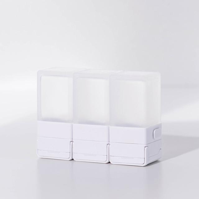 Suzzi|積木旅行分裝瓶 三件旅行組 - 希臘白S