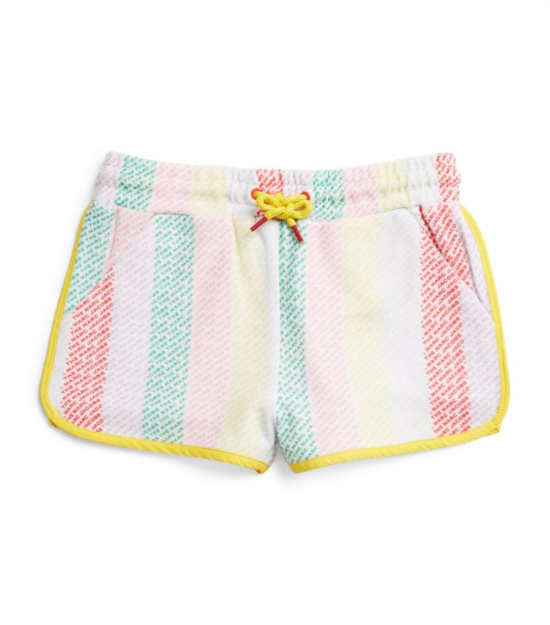 The Marc Jacobs Kids All-Over Logo Shorts (4-14 Years)
