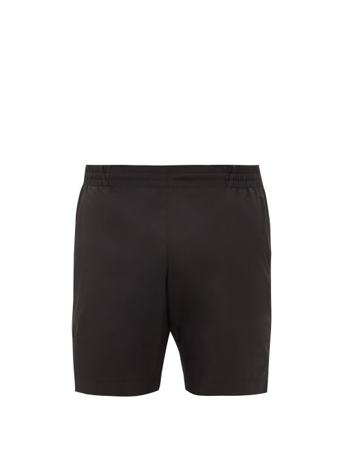 Iffley Road - Hampton Technical-shell Shorts - Mens - Black