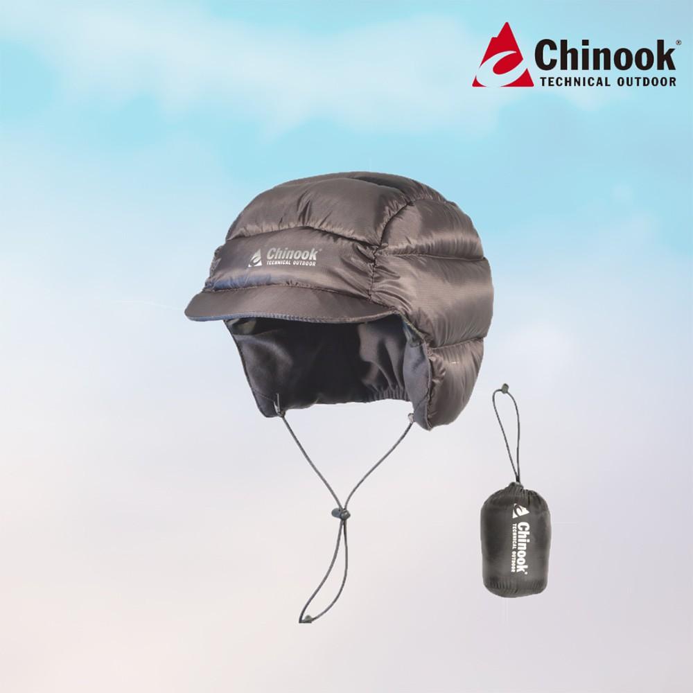【Chinook】防寒羽絨帽-灰 Down Hiking Cap|品牌旗艦館|