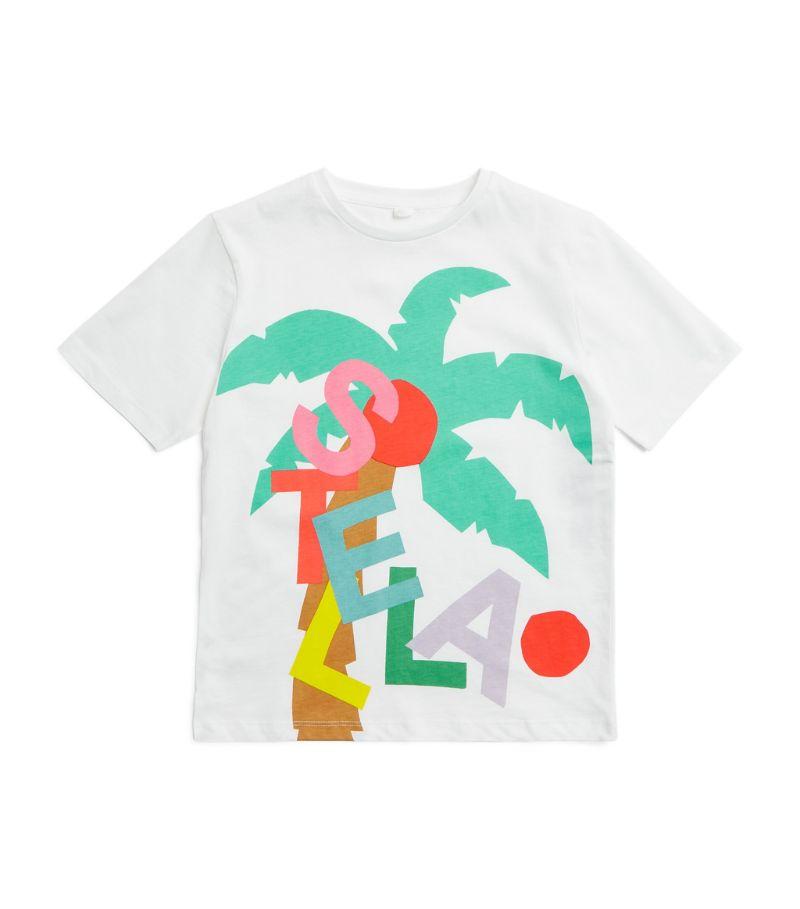 Stella Mccartney Kids Palm Print T-Shirt (3-14+ Years)