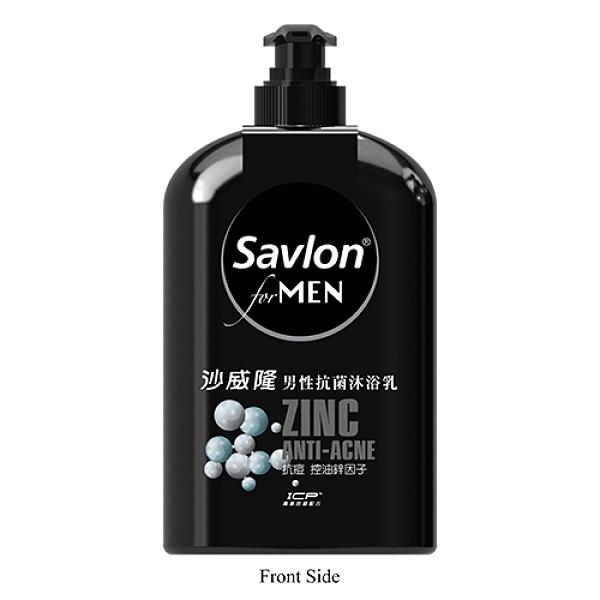 沙威隆男性抗菌沐浴乳670ml抗痘鋅因子【寶雅】