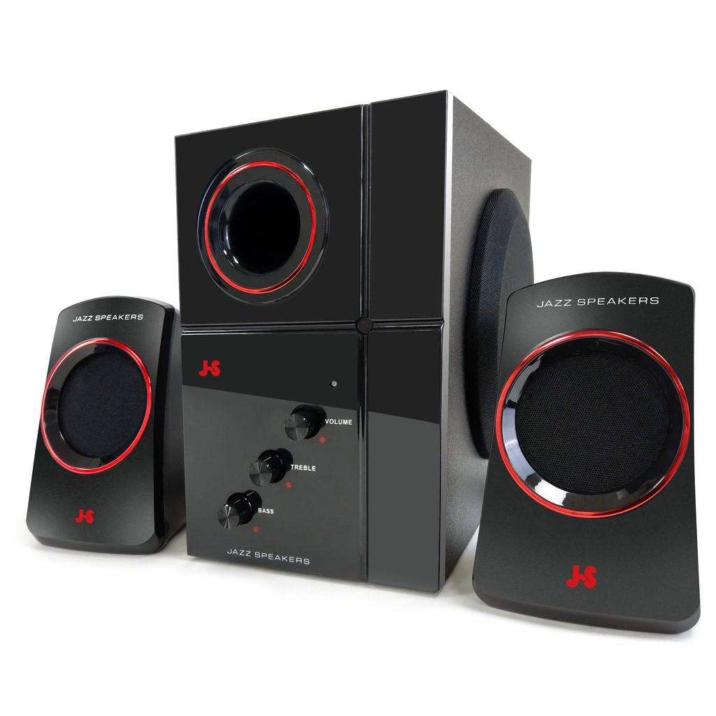 JS 淇譽電子 2.1聲道多媒體喇叭 JY3054 主機4吋重低音喇叭