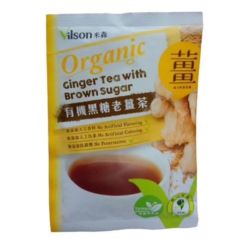 米森 有機黑糖老薑茶 20g/包(另有3包特惠) 隨身包
