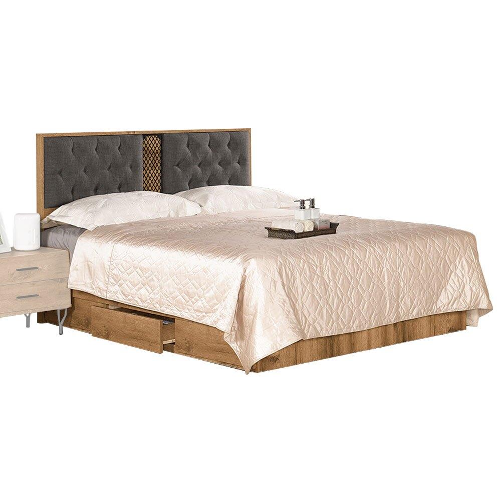福尼斯5尺雙人床組/H&D東稻家居-消費滿3千送點數10%