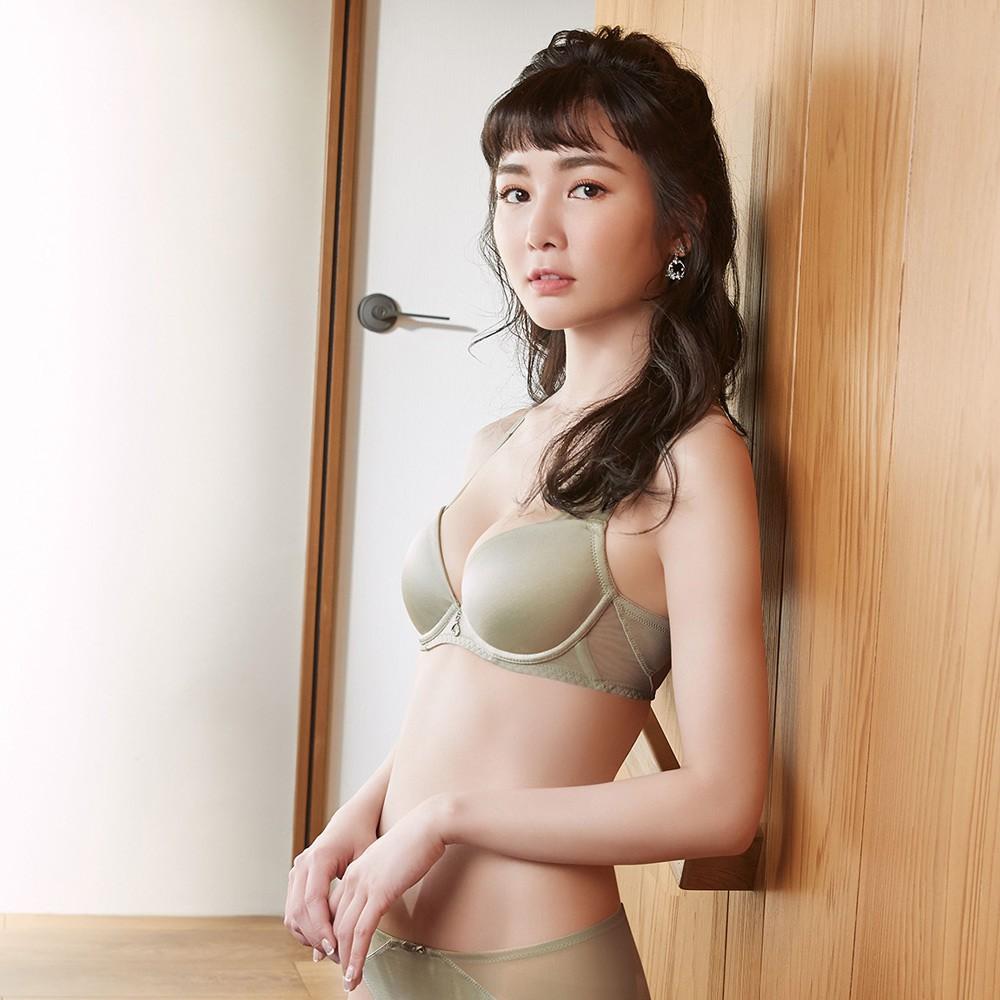 曼黛瑪璉 保氧內衣 B-E罩杯(卡其綠)