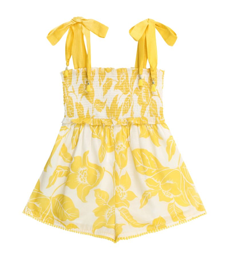 Zimmermann Kids Bells Floral Playsuit (2-10 Years)