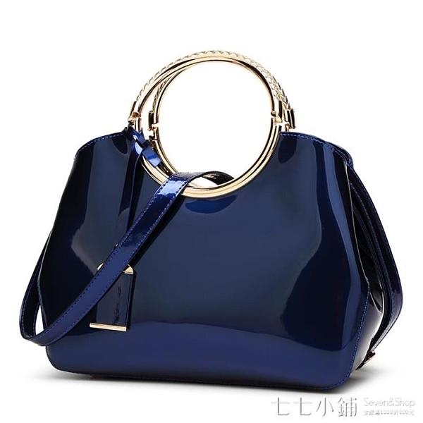 女包2021新款 時尚今年流行的包包 女包 新款2021手提包亮皮漆皮
