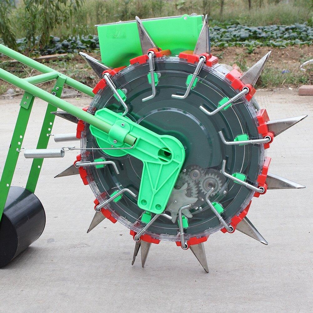 【春耕必備】手推滾輪式播種機玉米花生大豆棉花播種器精準多功能種子種植器