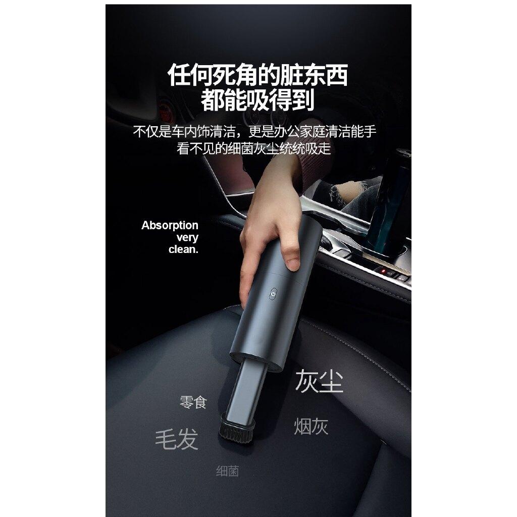 臺灣家庭汽車必備 速影無線手持吸塵器 迷你家用車用大風力 充電手持 便攜小型清潔器