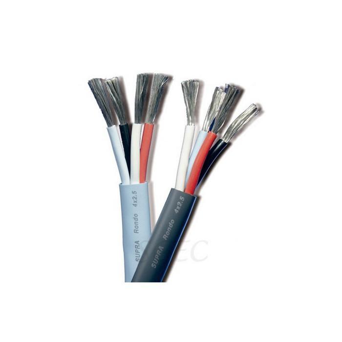 瑞典 SUPRA Rondo 4 x 4.0 Bi-Wire (1捆50m) 喇叭線 公司貨享保固《名展影音》