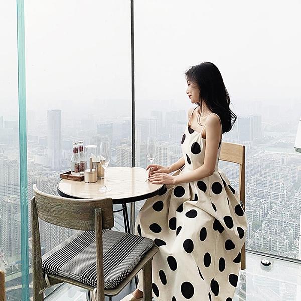 楊泡泡高端定制 chao愛的一款波點系列 外出約會性格的洋裝~ 幸福第一站