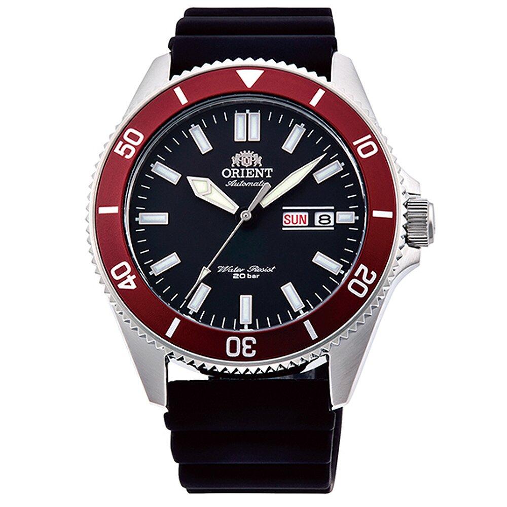 ORIENT 東方錶潛水機械膠帶錶-黑水鬼 / RA-AA0011B ( 原廠公司貨)
