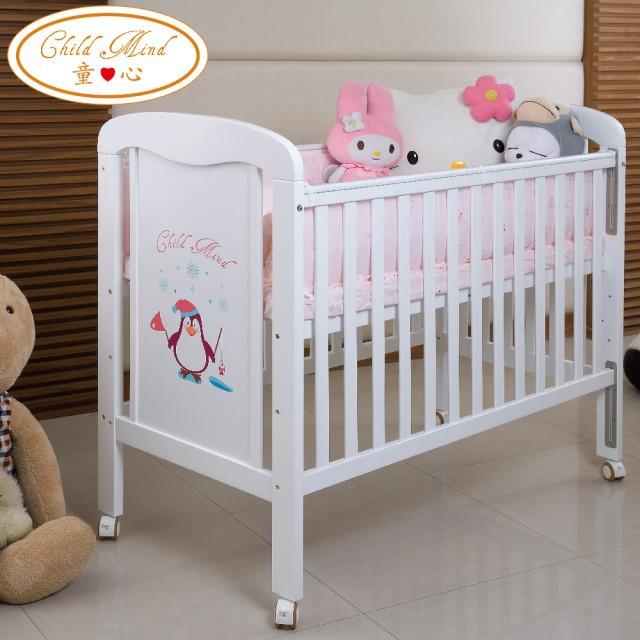 【Child Mind 童心】三合一多功能嬰兒床-小淘企(台規中床)