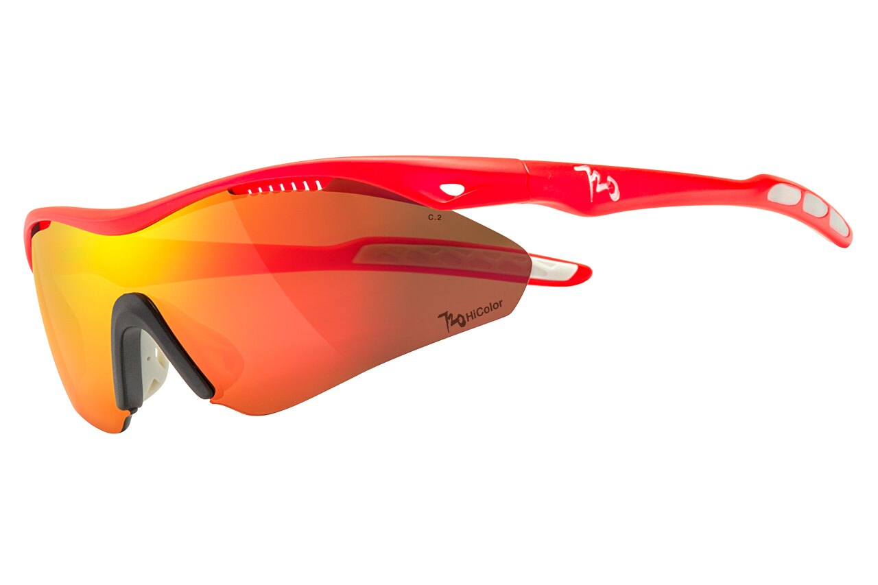 【【蘋果戶外】】720armour B355B3-10-HC Analog HiColor 消光螢桔 茶紅鍍膜 運動太陽眼鏡 防風眼鏡 偏光眼鏡 寶麗來 polarized