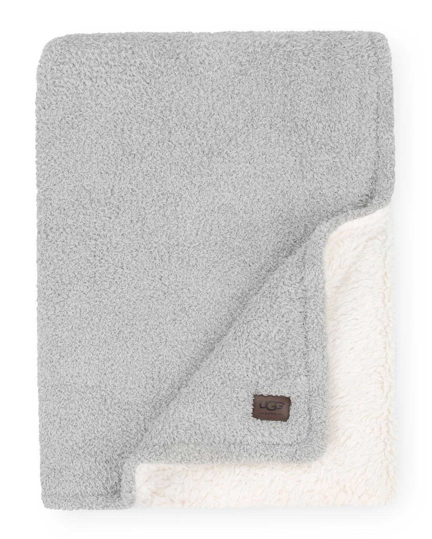 Ana Reversible Cozy Knit Throw Blanket