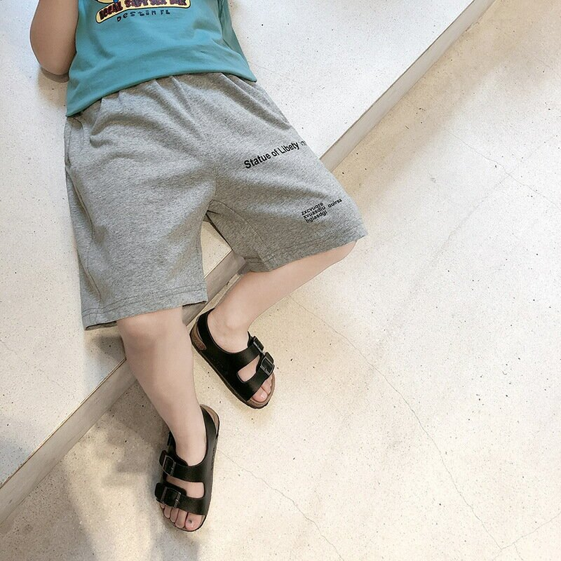 男童夏季短褲薄款寶寶夏裝褲子外穿小童兒童韓版休閒五分褲潮2021