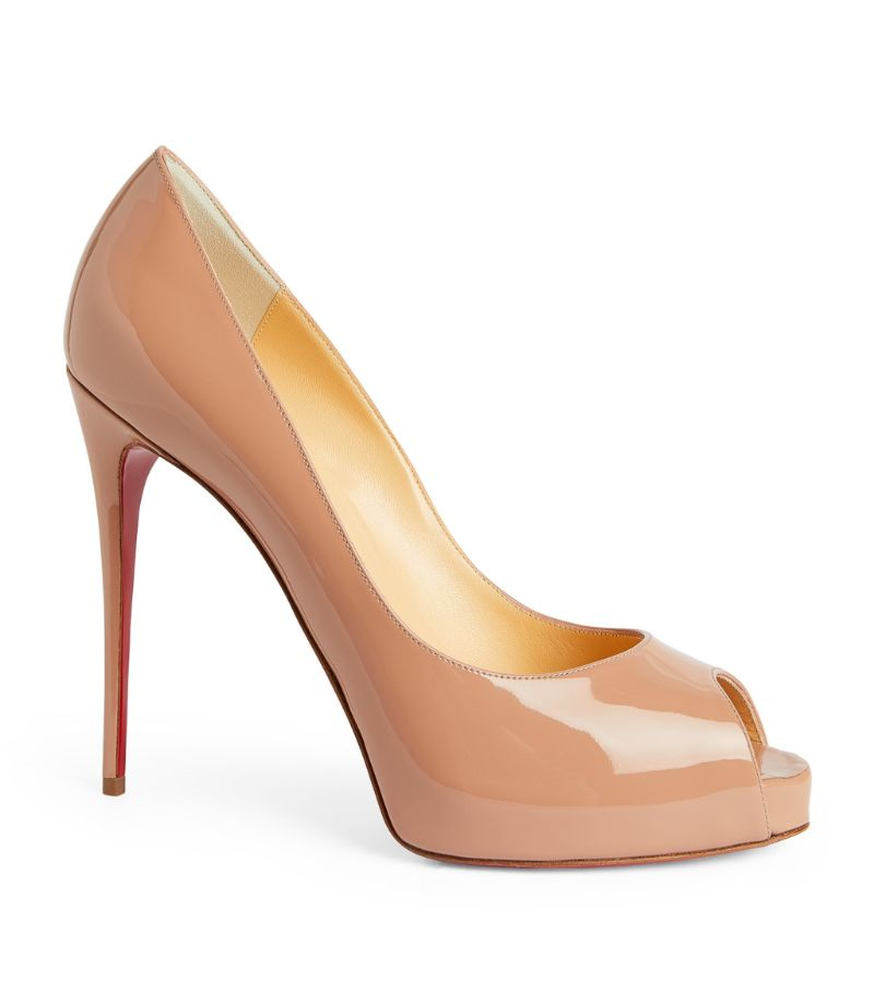 Christian Louboutin Patent Leather New Very Prive Pumps 120