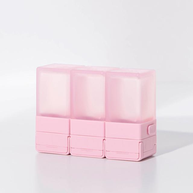 Suzzi|積木旅行分裝瓶 三件旅行組 - 京都粉S