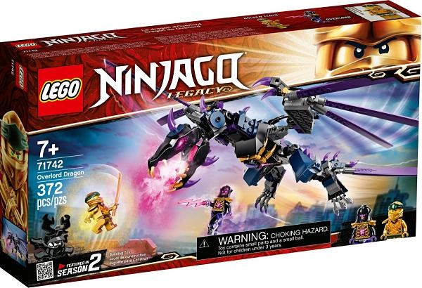 樂高積木 LEGO《 LT71742 》NINJAGO 旋風忍者系列 - 龍與黑暗島主 / JOYBUS玩具百貨