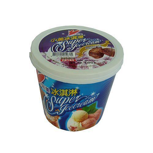 小美香芋冰淇淋520g【愛買冷凍】