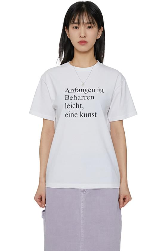 韓國空運 - Kunst short sleeve T-shirt 短袖上衣