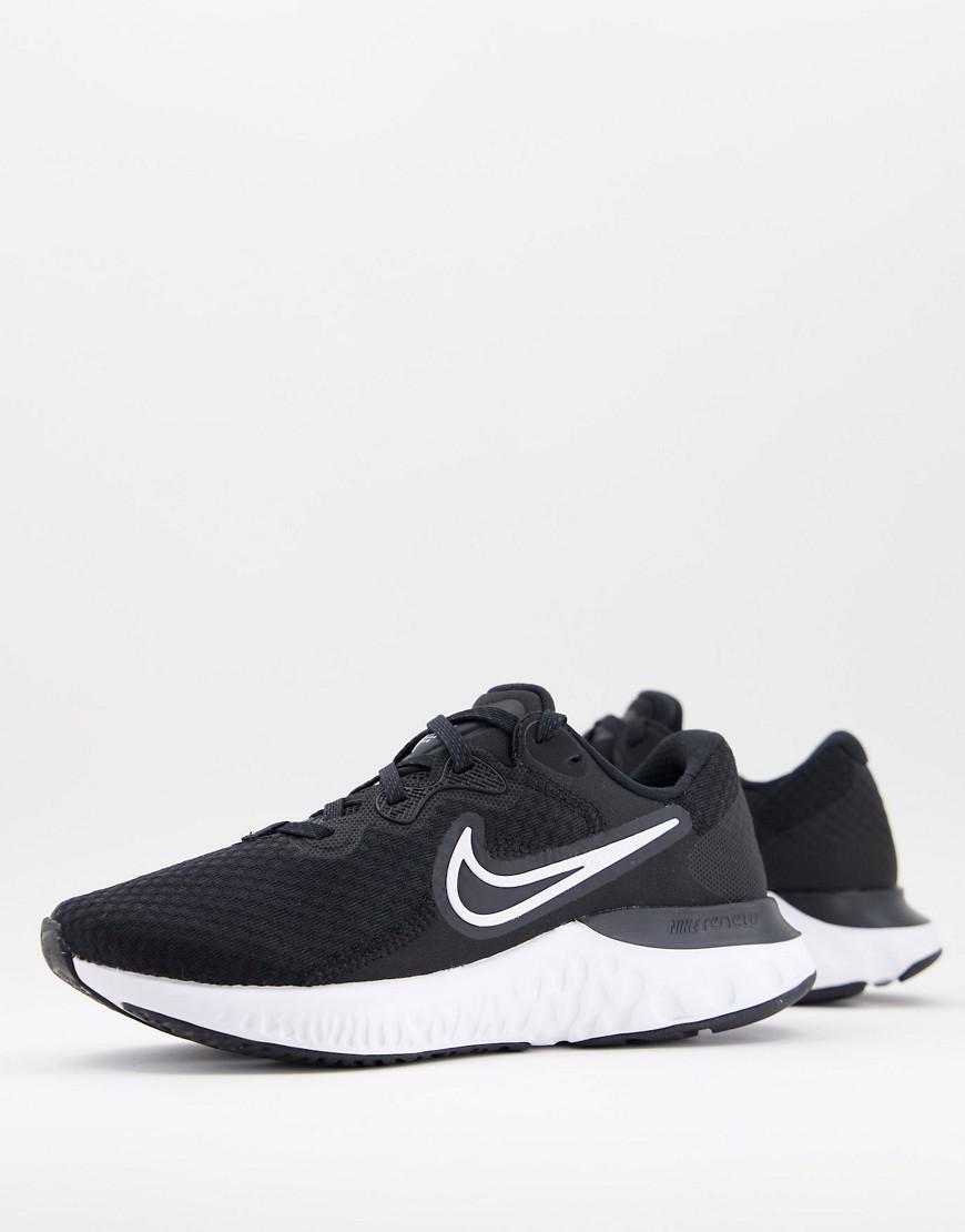 Nike Running Renew Run 2 trainers in black