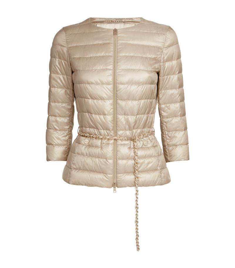 Herno Belted Lucrezia Quilted Jacket