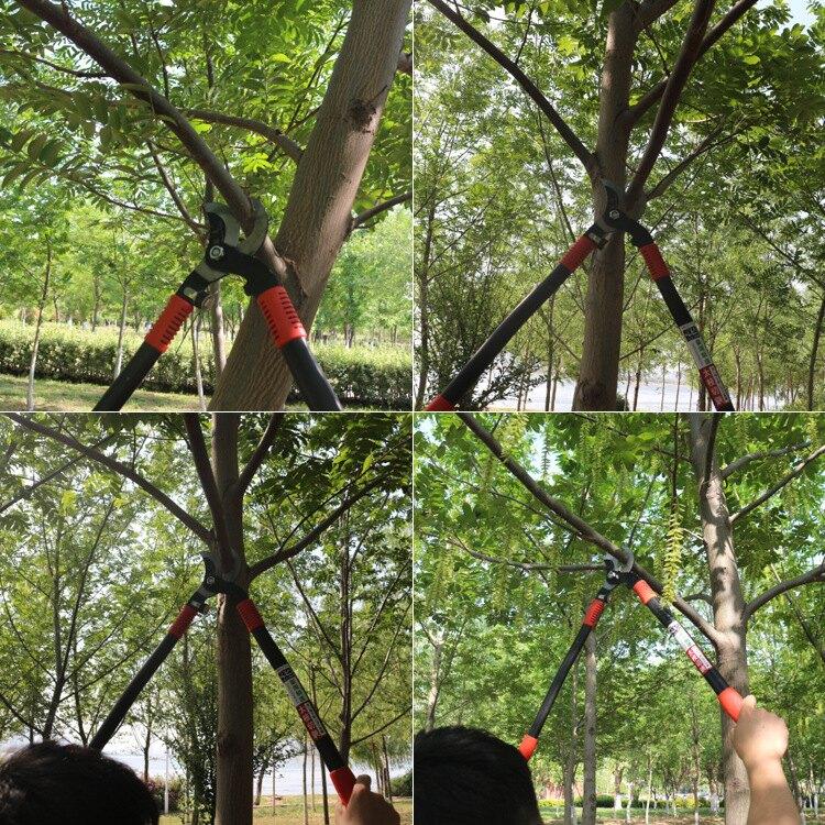 【免運】大力士粗枝剪修枝剪樹枝剪園林工具剪刀果樹剪省力高枝剪新品上新 全館85折