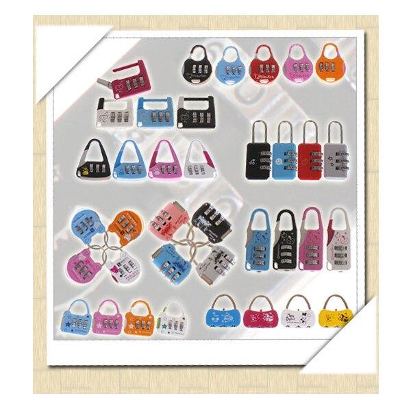 彩色造型密碼鎖 迷你密碼鎖 行李箱鎖 信箱鎖 工具箱包健身房櫃子密碼鎖掛鎖 抽屜鎖 日記鎖 贈品禮品