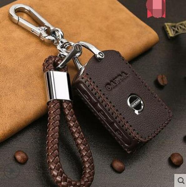 沃爾沃汽車真皮鑰匙套包