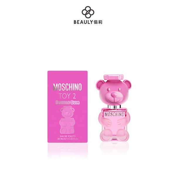 MOSCHINO BUBBLE GUM 泡泡熊女性淡香水 30ml《BEAULY倍莉》