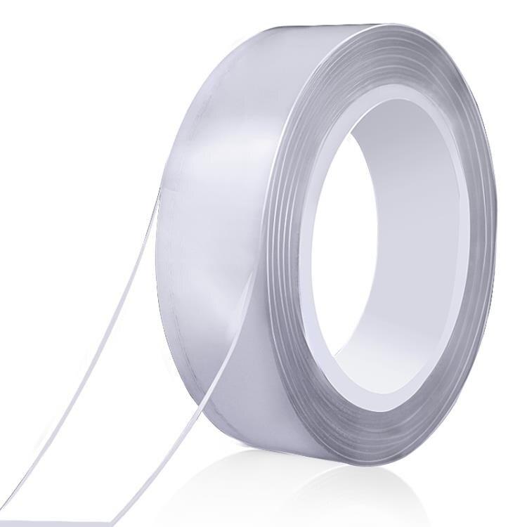 雙面膠高粘度透明魔力膠防水耐高溫粘貼墻面佈固定專用不留痕 -  釦子小鋪