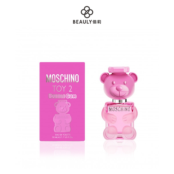MOSCHINO BUBBLE GUM 泡泡熊女性淡香水 50ml《BEAULY倍莉》