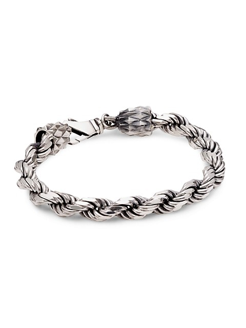 Sterling Silver French Rope Chain Bracelet