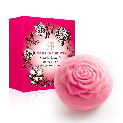 果香玫瑰香水香皂(淨)140g【另有六入$750優惠,請至「限時折扣活動」選購】